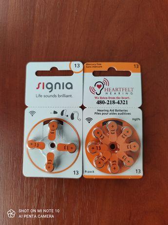 Батарейки для слухового аппарата Signia 13