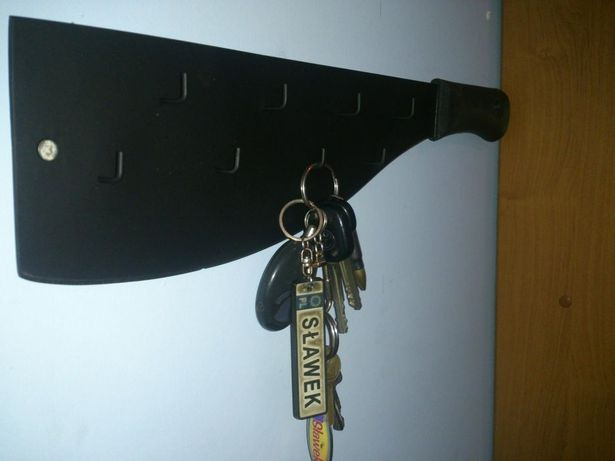 Wieszak na klucze maczeta jedyny niepowtarzalny ostra!