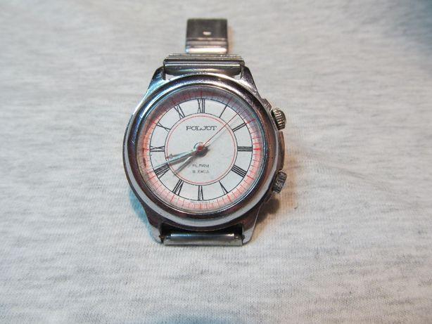 Продам наручные механические часы POLJOT с будильником СССР