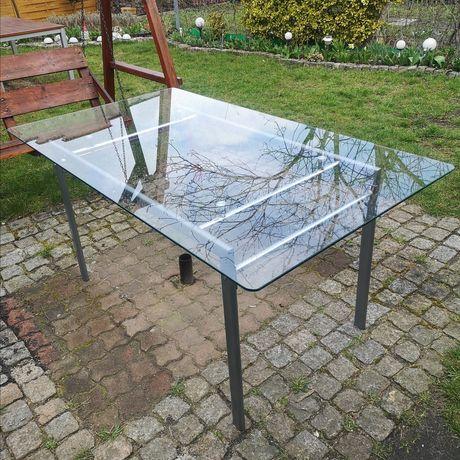 Stół szklany 160x90