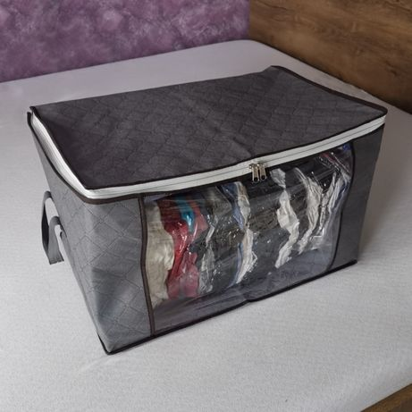 (Nowe) 3 x Torba, pokrowiec na ubrania + 3 worki próżniowe