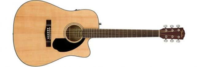 Guitarra Electro-Acústica Fender - CD-60SCE NAT