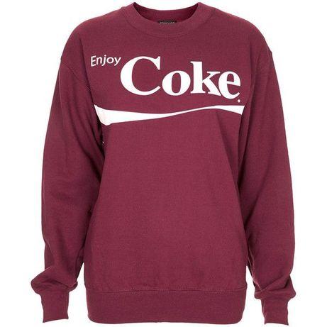 Bluza Topshop petite S/M enjoy Coke