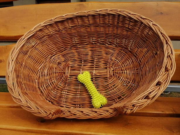wiklinowe owalne legowisko 54 cm , koszyk, leżaczek, ozdoba