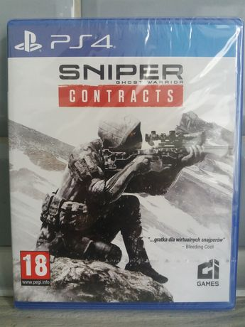 Sniper contracts ps4 nowe folia!!!