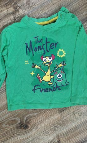 Bluzka Monster 86/92