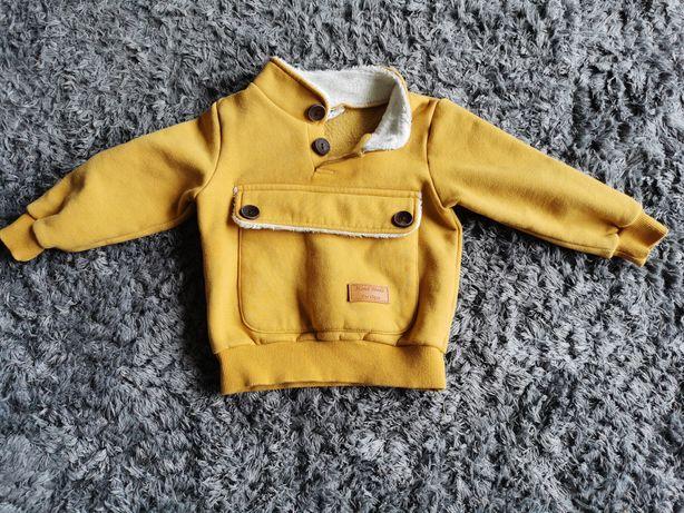 Bluza niemowlęca bardzo ciepła