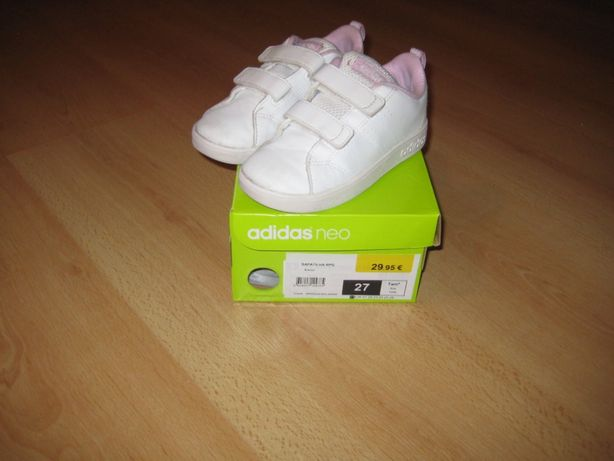 Sapatilhas Rapariga Adidas Neo Nº27.
