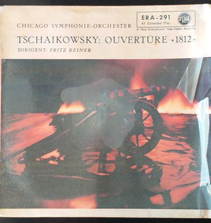 Tchaikovsky Overture 1812 Chicago Symphony Orchestra Vinil Single
