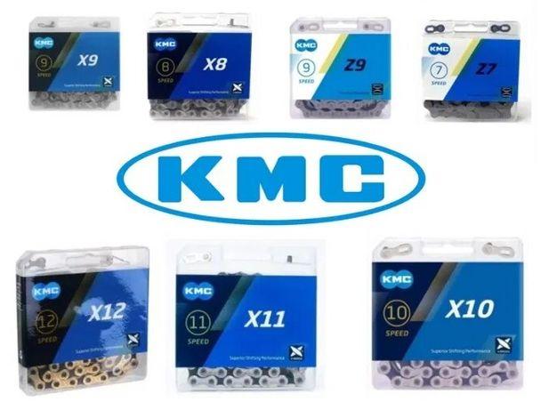 Цепи KMC X9, KMC X10, KMC X11, KMC X12, KMC X8, KMC Z9, KMC Z8