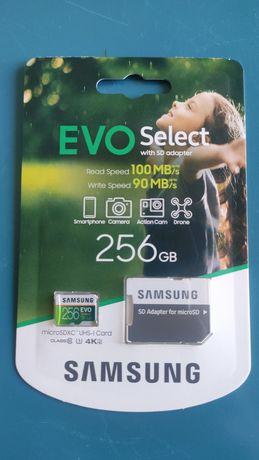 Samsung evo select 256Gb micro SD