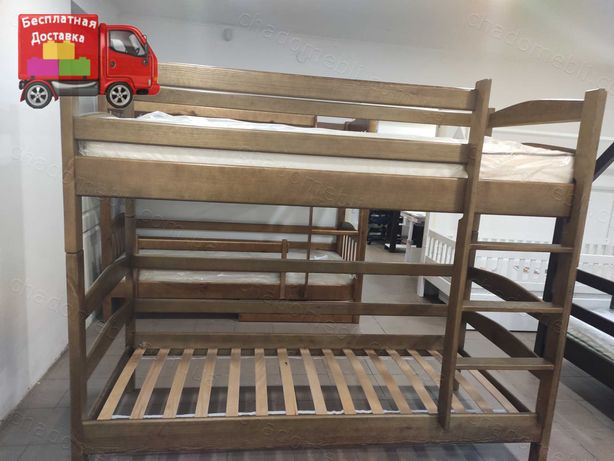 Двоярусне ліжко\двохярусне\2ярусне\2х ярусне дерев'яне