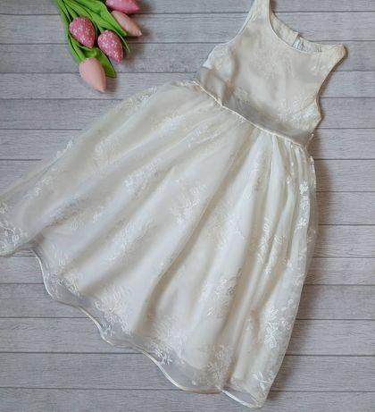 Красивое пышное нарядное платье 122 см выпускное на утренник выпуск