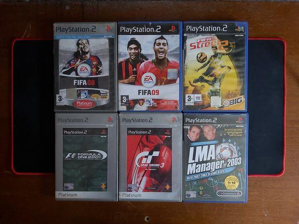 12 Jogos ( Playstation 2 / Ps2 )