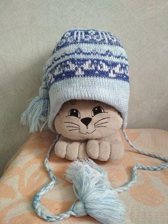 Продам шапку зимнюю на 1-2 года