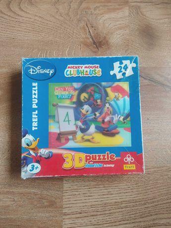 Puzzle 3D Myszka Miki Disney dzieci 3+ 24 puzzle