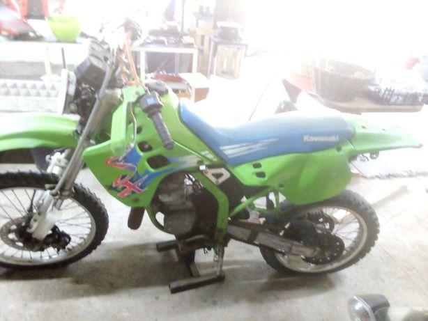 Kawasaki kdx 125 Peças