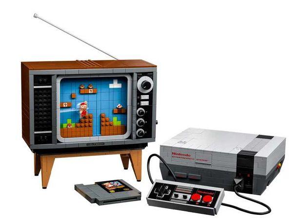 Lego Nintendo Entertainment System NES Super Mario 71374