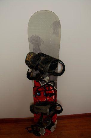 Deska snowboardowa K2 Mighty Eldo i wiązania Wed'ze Expedite 9