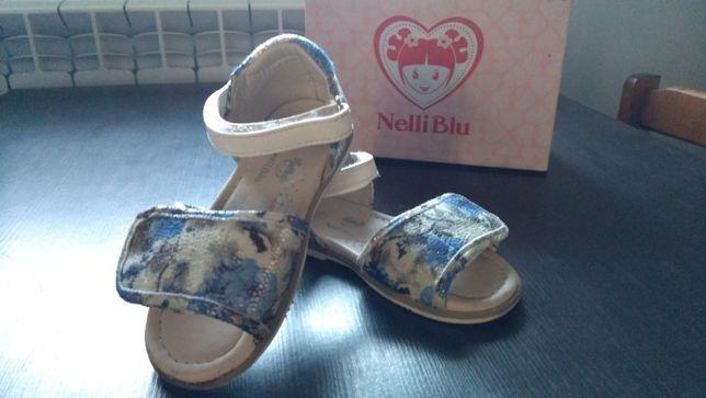 Buty buciki sandały sandałki lakierowane 23