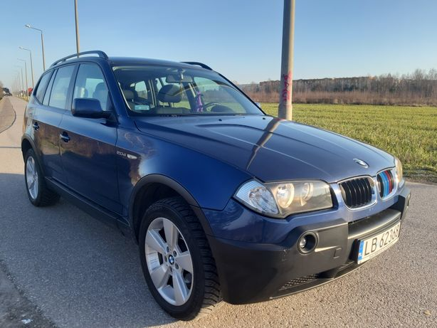 BMW X3 2.0d 150KM manual prod. 2005 idealna