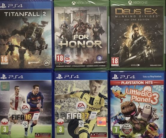 Gry PS4 Xbox ONE