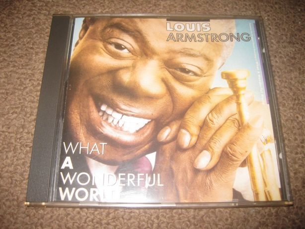 "CD do Louis Armstrong ""What a Wonderful World"" Portes Grátis"