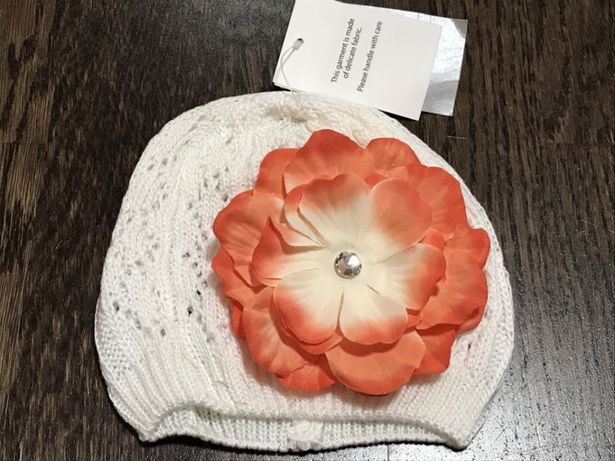 Тонкая шапочка Pumpkin Patch для девочки, р 43/45см