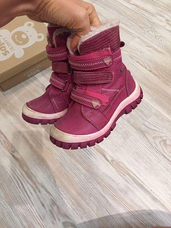 Детские зимние ботинки для девочки Lasocki 24 размер