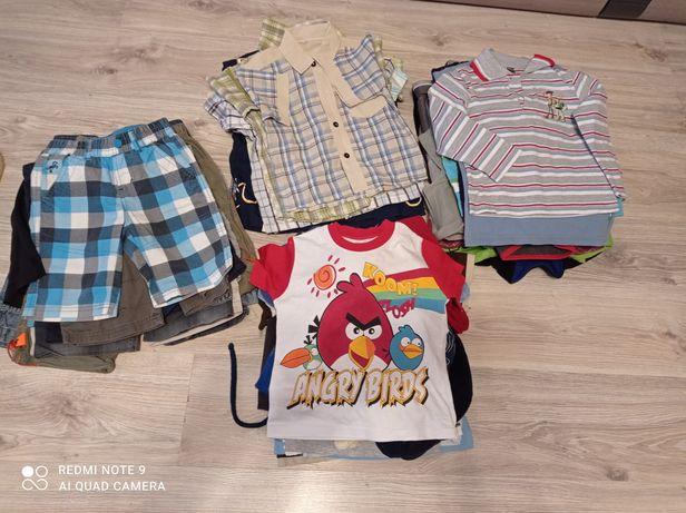 Zestaw ubrań, ciuszków dla chłopca, chłopięcych, 92, 98, 104, 110, 116