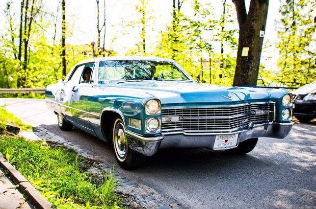 Cadillac do Ślubu - DeVille 1966 r. auto na wesele, zabytkowy samochód
