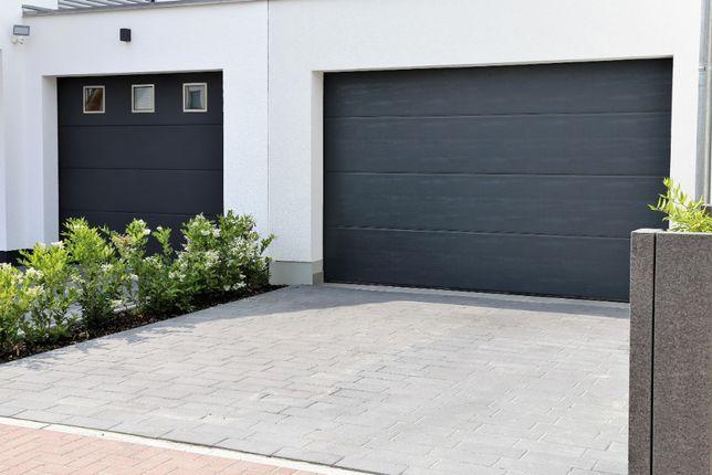 Producent Brama garażowa segmentowa Bramy garażowe przemysłowe 2,58*2