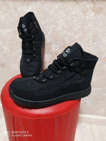 Термо ботинки черевики обувь зима 41,42,43,44,45,46