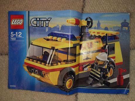 Lego City 7891 klocki Lego strażak