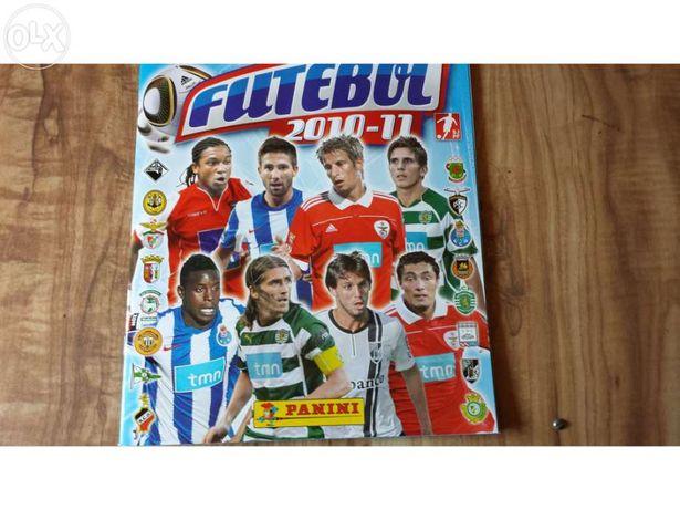 Cadernetas cromos futebol