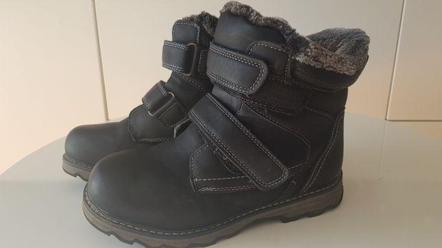 Buty zimowe chłopięce 35