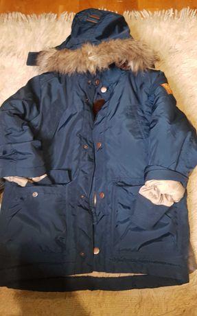 Kurtka parka H&M 6 lat zimowa ocieplana