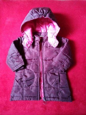 Płaszczyk-kurtka zimowa z kapturem Hema