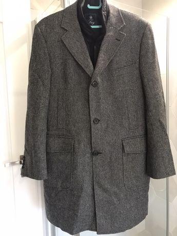 Męski płaszcz wełniany Fay made in Italy