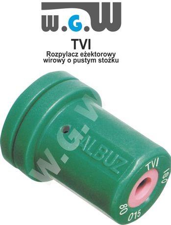 Albuz TVI 80 sadowniczy antyznoszeniowy wirowy, dysza, dysze - zestaw