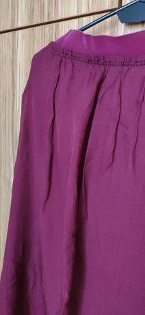 Spódnica z jedwabiu Massimo Dutti, rozmiar M, stan bdb