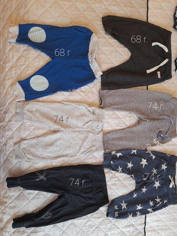 Spodnie chlopiece 68 r.-74 r.