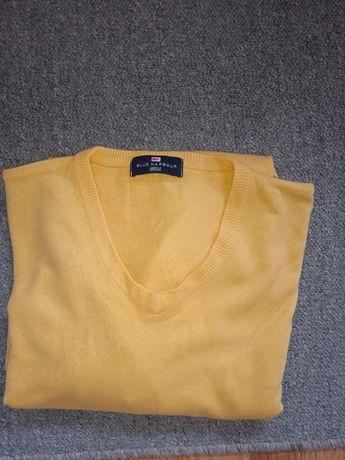 Marks & Spencer żółty sweter oversize L, XL.