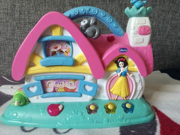 Interaktywny domek Krolewna Sniezka Disney Chicco