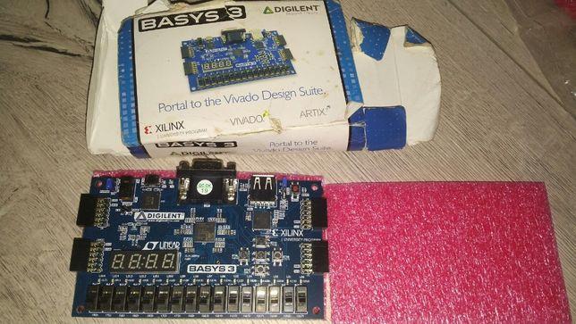 BASYS 3 - Digilent z FPGA Artix-7