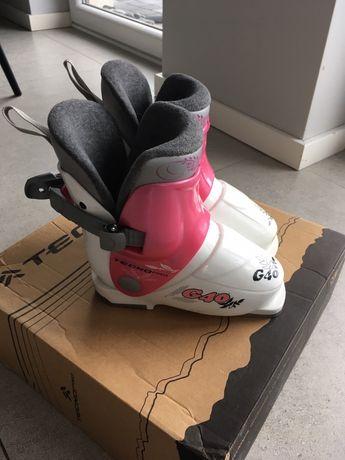 Buty na narty Tecno pro 17,5 (27) dla dziewczynki