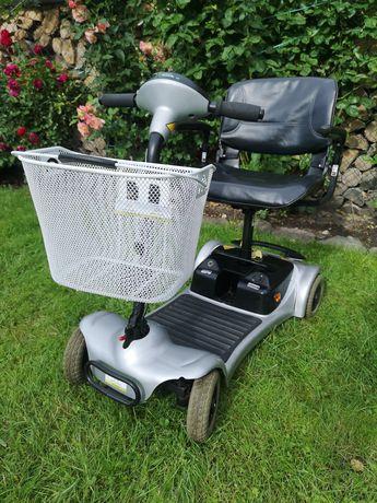 Skuter elektryczny wózek inwalidzki składany
