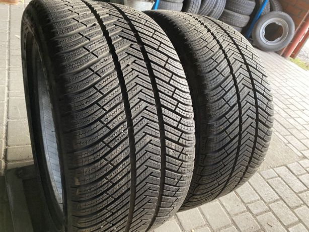 зима 285\40\R19 2017г Michelin Pilot Alpin PA4 N1 2шт Panamera