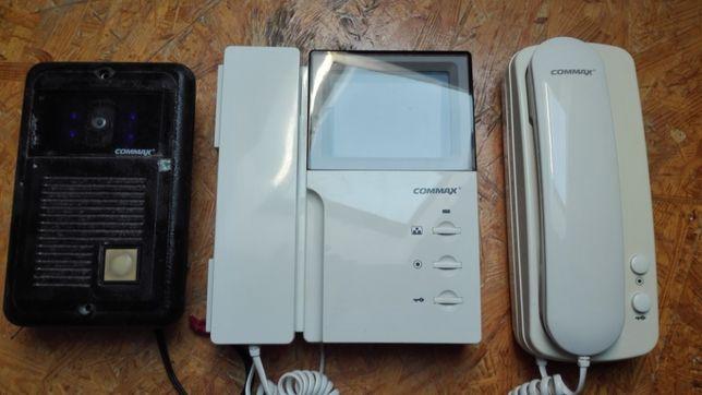 Wideodomofon Commax zestaw