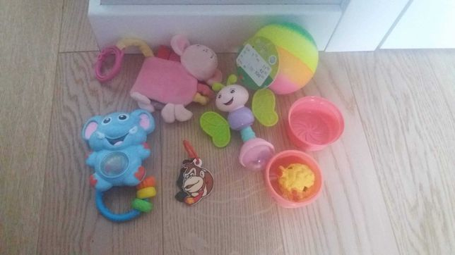 Maskotki grzechotki piłka zabawki dla niemowląt zabawka sensoryczna